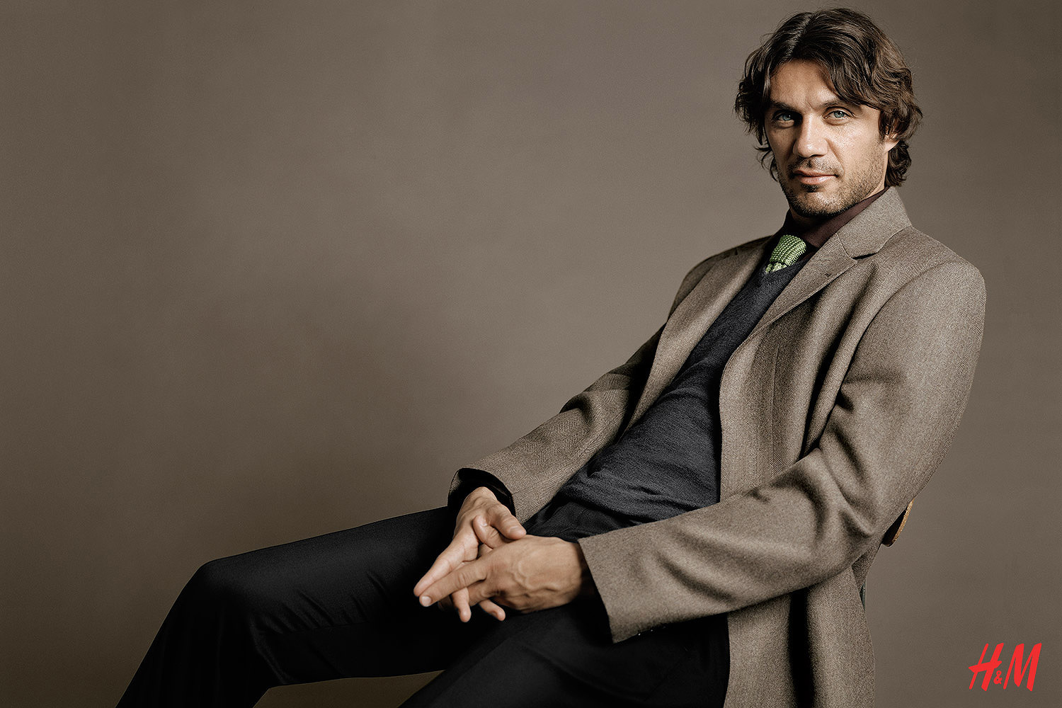 Peter Gehrke – Paolo Maldini for H&M Fall 2006