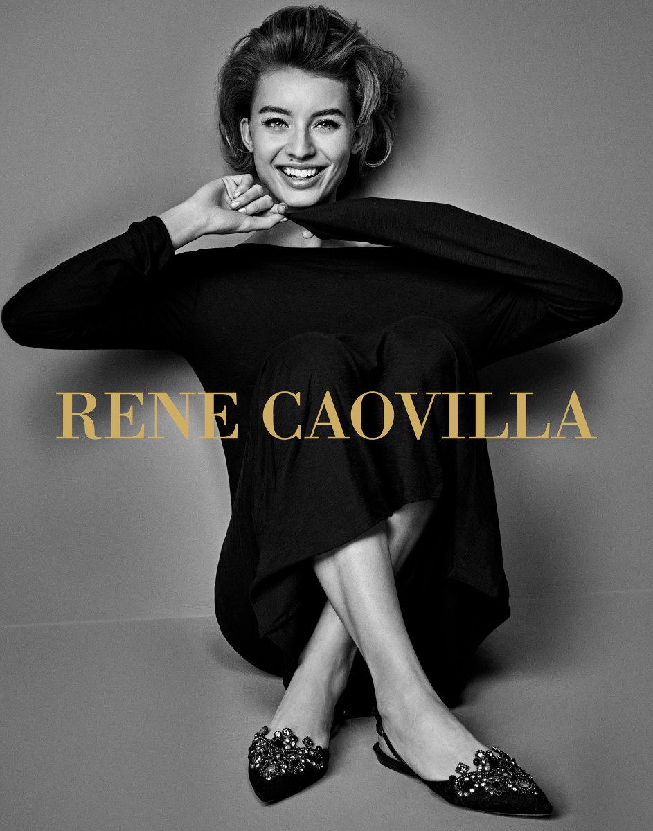 shoots René Caovilla Campaign