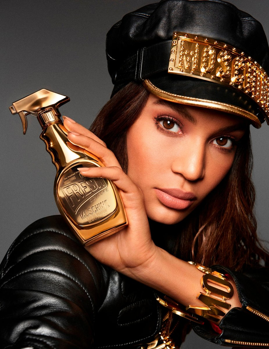 Moschino Gold Fragrance Campaign