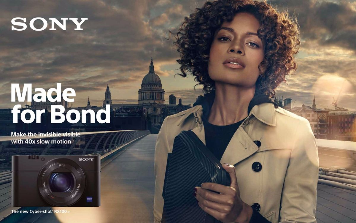 Sony 'Made for Bond' featuring Naomie Harris