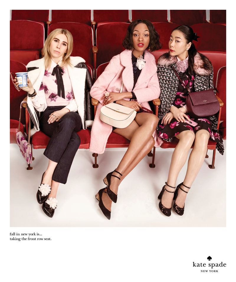 Kate Spade AW16 campaign