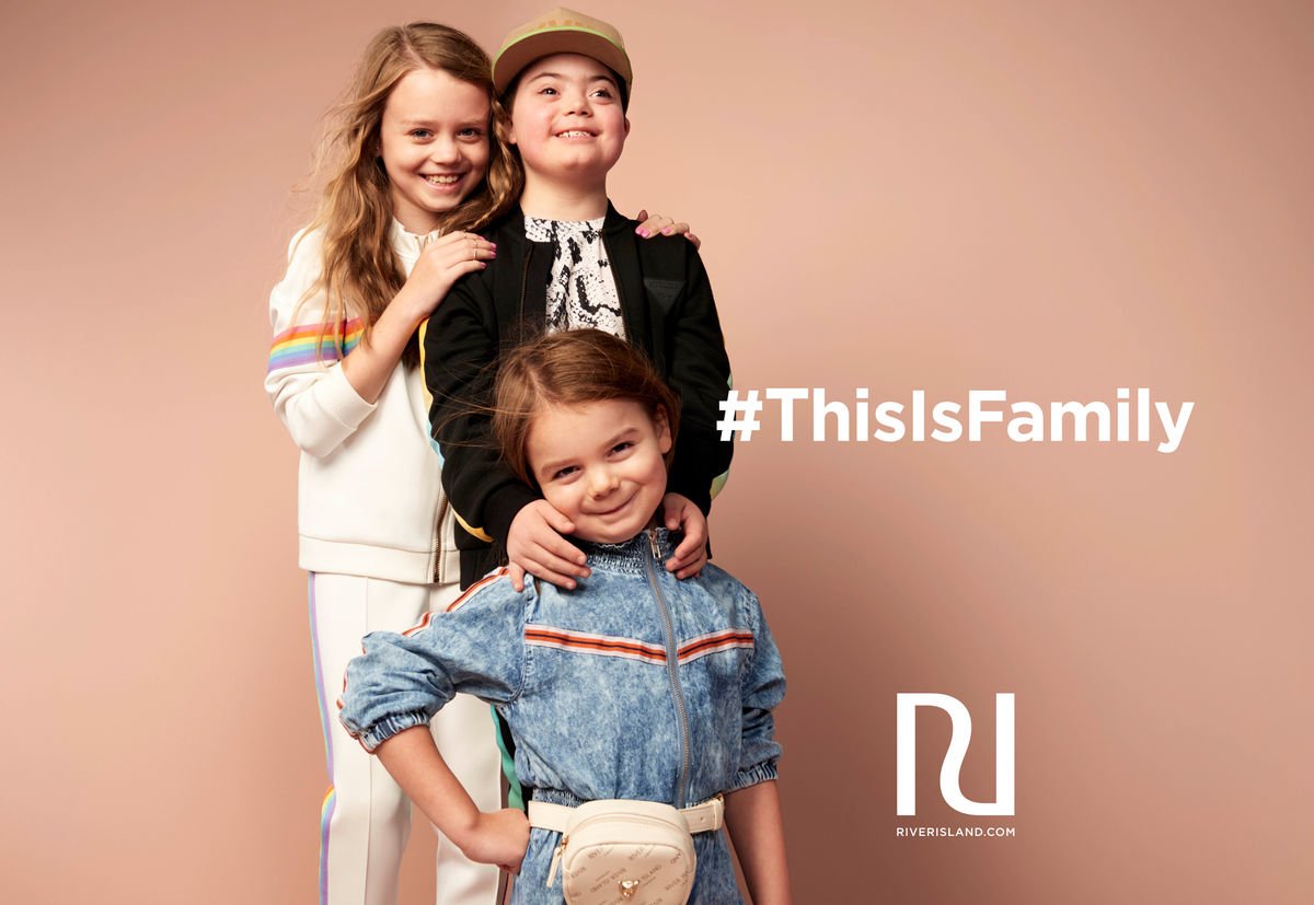 River Island SS19 #ThisIsFamily REALCAST