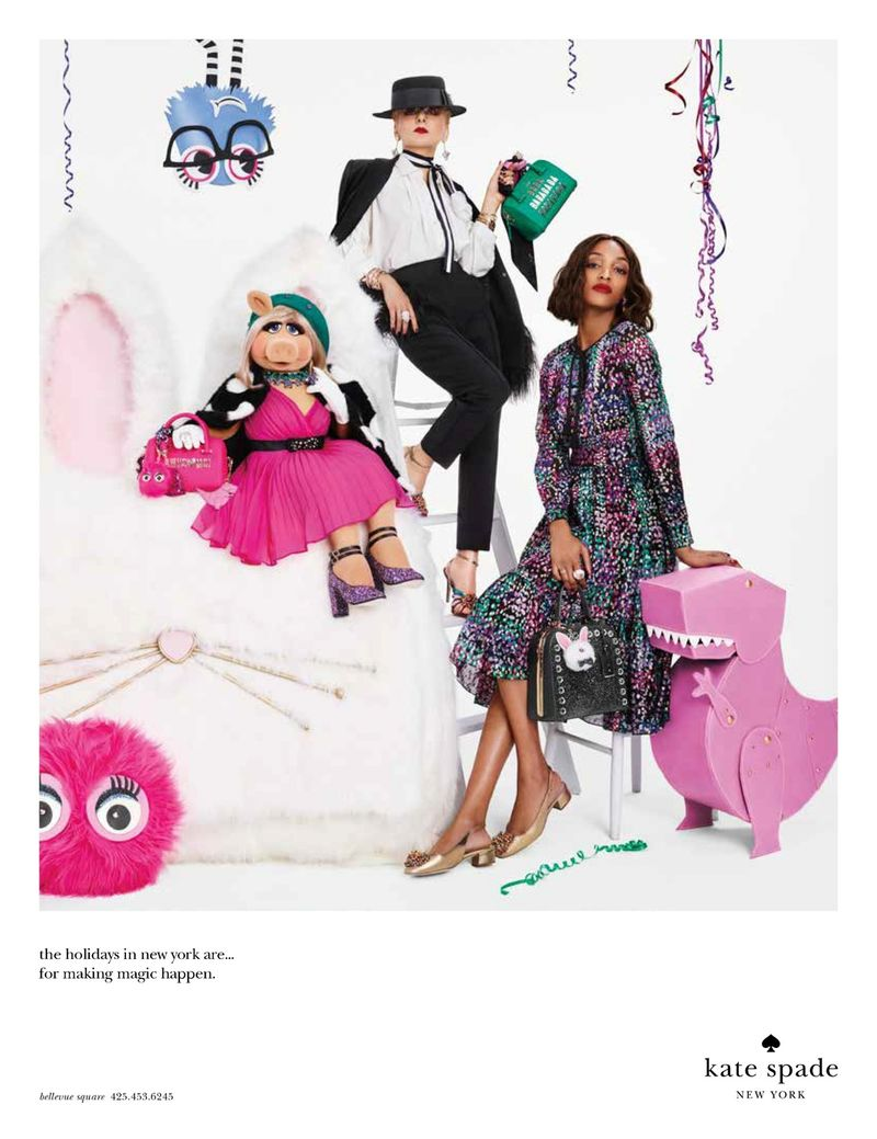 Kate Spade Holiday 16 Campaign