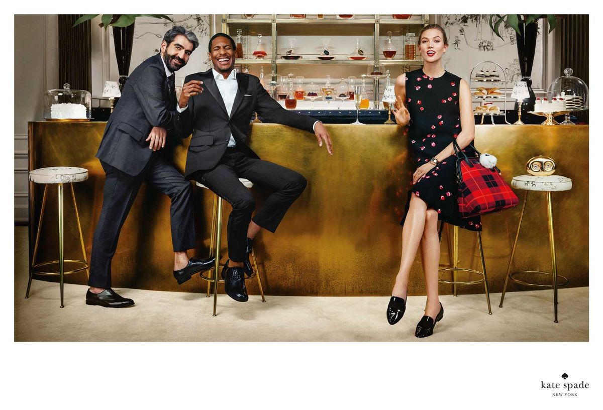 Kate Spade AW15 campaign