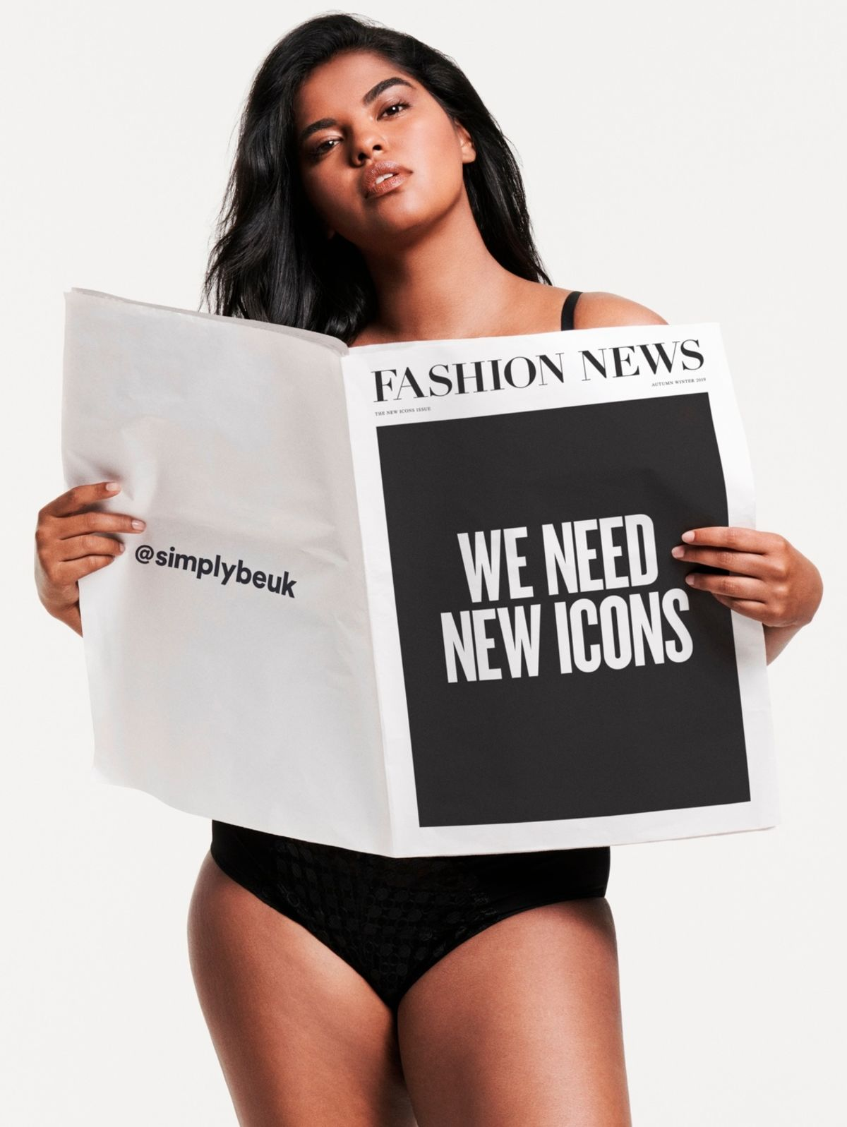 Simply Be 'The New Icons'