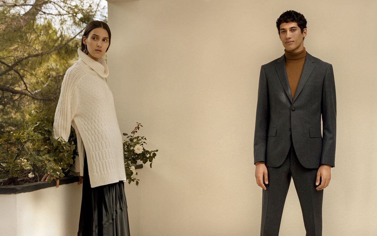Club Monaco AW19 Lookbook