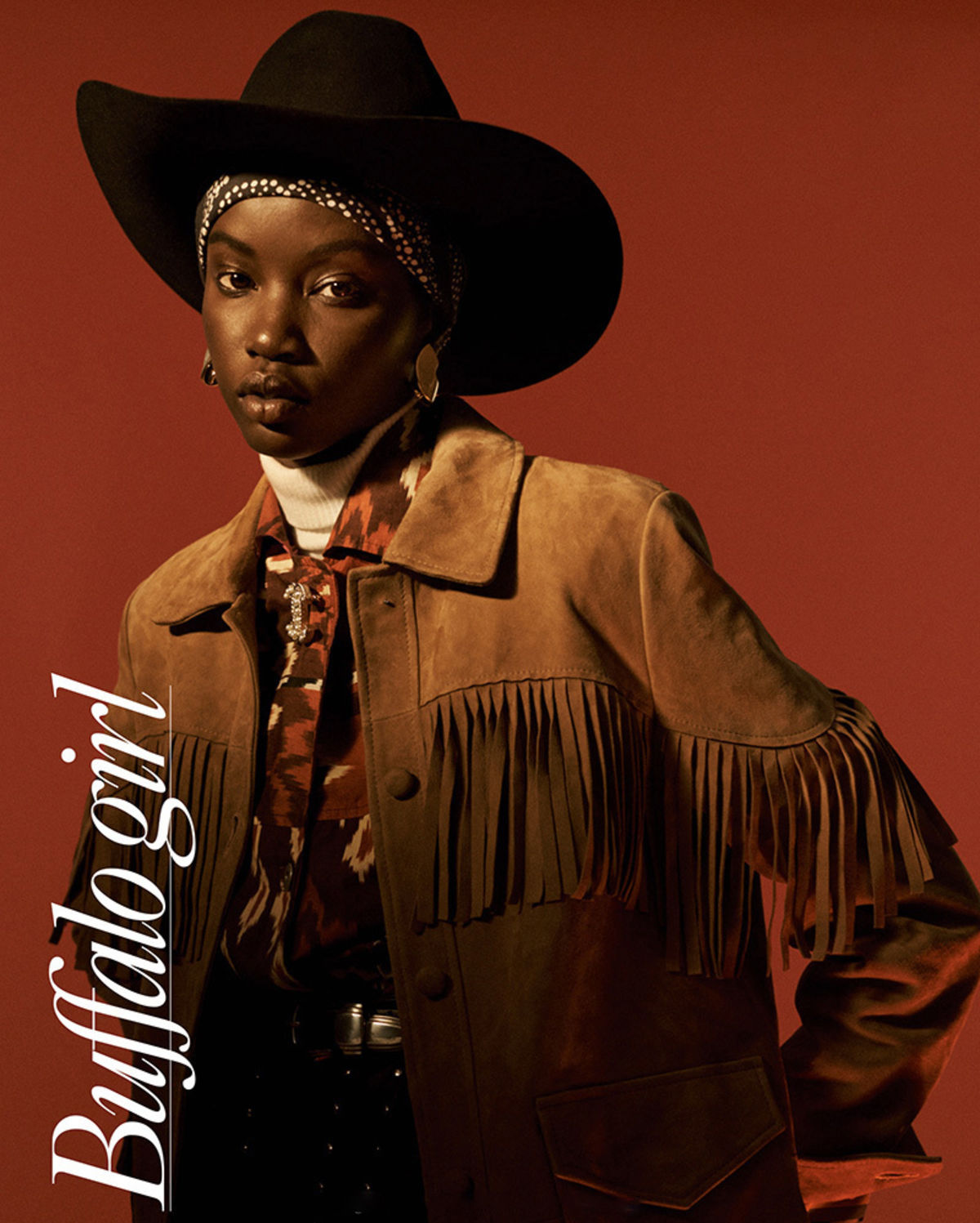 Vogue Paris 'Buffalo Girl'